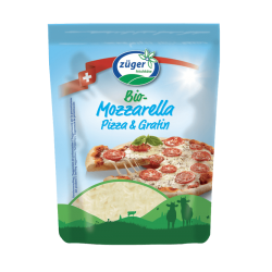 MOZZARELLA RAPEE PIZZA ET GRATIN 150G