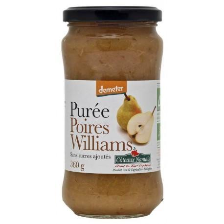 PUREE POIRE WILLIAM SANS SUCRE 360G