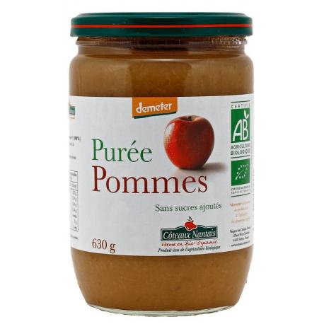 PUREE DE POMME DEMETER 630G