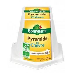 PYRAMIDE DE CHEVRE FRAIS 125G