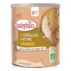 3 CEREALES NATURE 220G