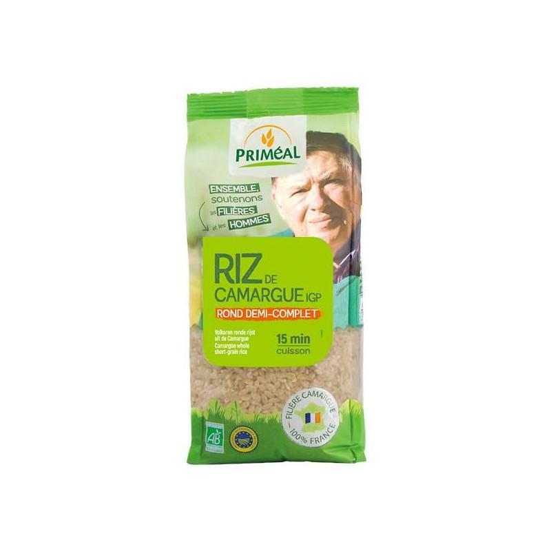 RIZ DE CAMARGUE ROND 1/2 COMPLET 1KG