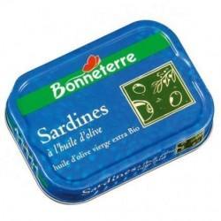 SARDINES HUILE D OLIVE 115G | BONNETERRE - POISSONS