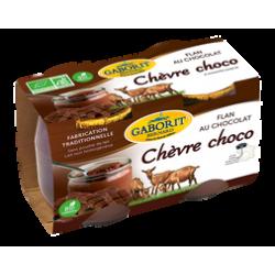 FLAN CHOCOLAT AU LAIT DE CHEVRE 2X125G