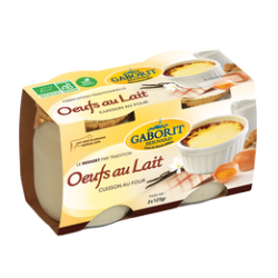 "OEUFS AU LAIT ""TRADITION"" 2X125G"