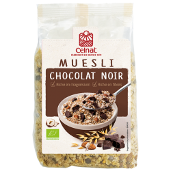 MUESLI CHOCOLAT NOIR 375G