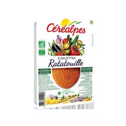 GALETTES DE CEREALES COMPLETES RATATOUILLE