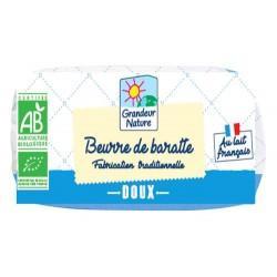 BEURRE DE BARRATE DOUX 500G