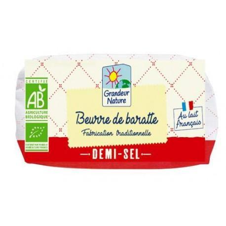 BEURRE DE BARATTE DEMI SEL 500G