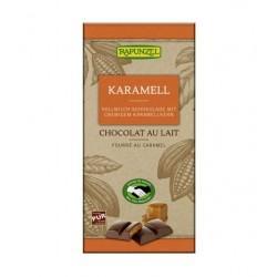CHOCOLAT LAIT FOURTE CARAMEL 100G