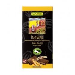 CHOCOLAT NOIR AU GINGEMBRE 80G