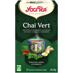 INFUSION CHAI VERT (17 INFUSETTES)