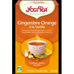 YOGI TEA GINGEMBRE ORANGE VANILLE 30.6G
