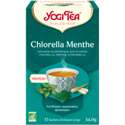 INFUSION CHLORELLA MENTHE (17 INFUSETTES)