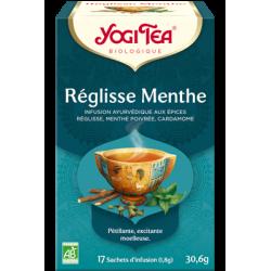 YOGI TEA REGLISSE MENTHE 15 SACHETS 30.6