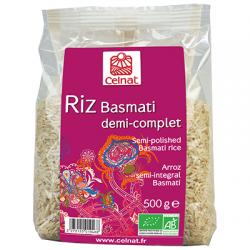 RIZ BASMATI 1/2 COMPLET 500G
