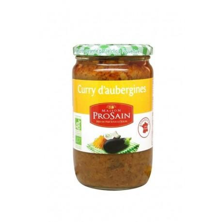 CURRY D'AUBERGINES 650G