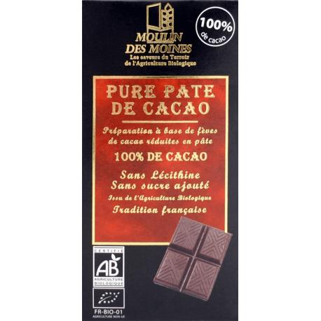 PURE PATE DE CACAO 100G