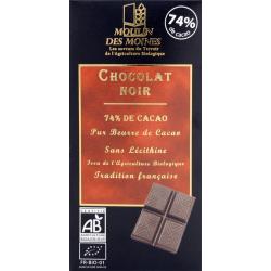 CHOCOLAT NOIR 74 P CENT 100G