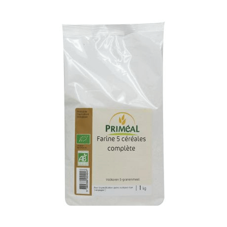 FARINE COMPLETE 5 CEREALES 1KG