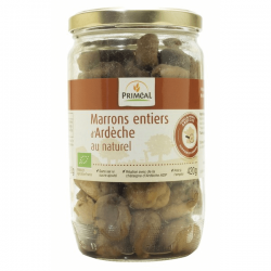 MARRONS ENTIERS NATUREL 420G