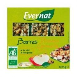 BARRE POMME CANNELLE 3X25G