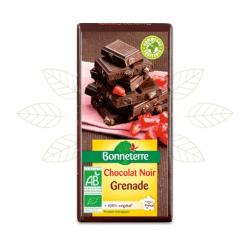 CHOCOLAT NOIR GRENADE 100G