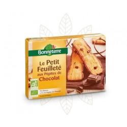 LE PETIT FEUILLETE AUX PEPITES DE CHOCOLAT 120G