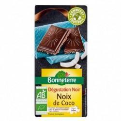 CHOCOLAT NOIR NOIX DE COCO 85G