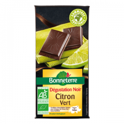 CHOCOLAT NOIR CITRON VERT 90G