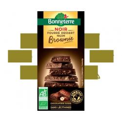 CHOCOLAT NOIR FOURRE FOURRE BROWNIE 100G