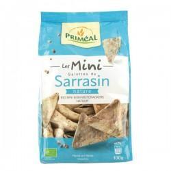 MINI GALETTES DE SARRASIN NATURE 100G