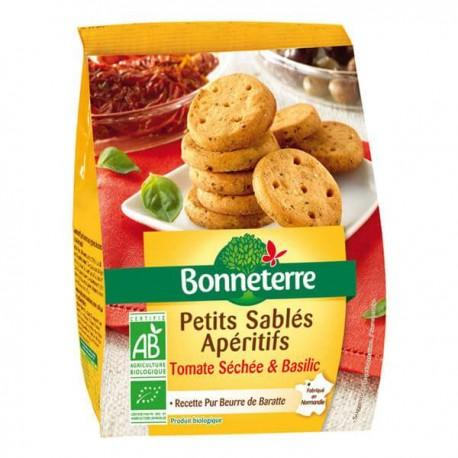 PETITS SABLES APERITIFS TOMATES SECHEES 90G