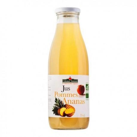JUS POMME ANANAS 75CL