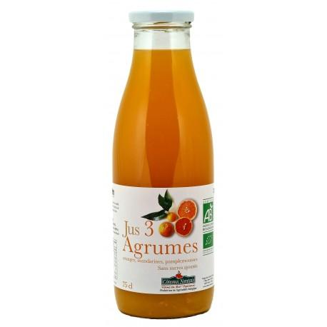 JUS COCKTAIL 3 AGRUMES 75CL