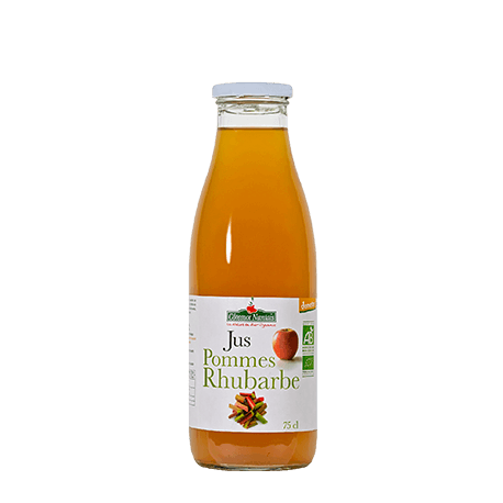 JUS POMME RHUBARBE 75CL