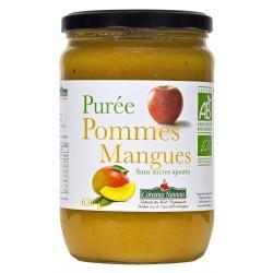 PUREE DE POMME MANGUES 630G