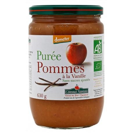 PUREE DE POMMES VANILLE 630G
