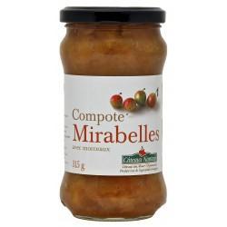 COMPOTE DE MIRABELLES 315G