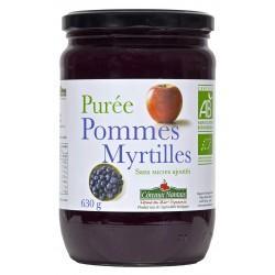 PURÉE POMME MYRTILLE 630G