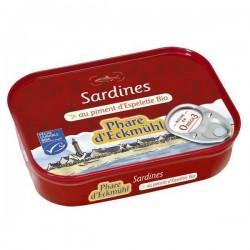SARDINNES AU PIMENT ESPELETTE 135G