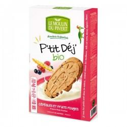 P'TIT DEJ' FRUITS ROUGES 190G