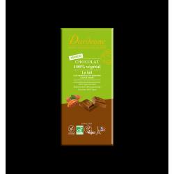 TABLETTE CHOCOLAT AU LAIT 100% VEGETAL
