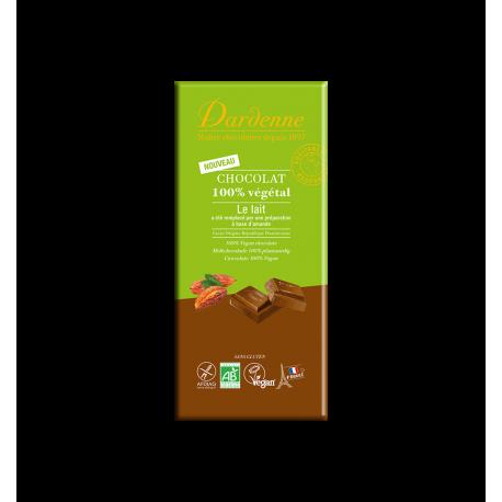 TABLETTE CHOCOLAT 100% VEGETAL 100G