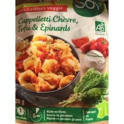 CAPPELLETTI EPINARDS TOFU CHEVRE 250G