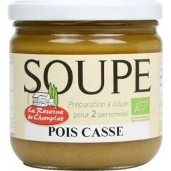 SOUPE POIS CASSES