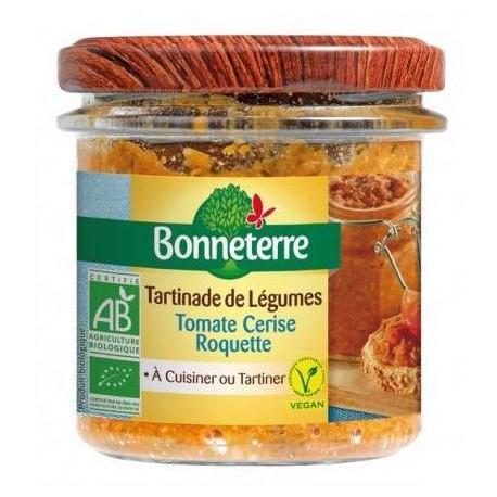 TARTINADES DE TOMATE CERISE ROQUETTE 135G