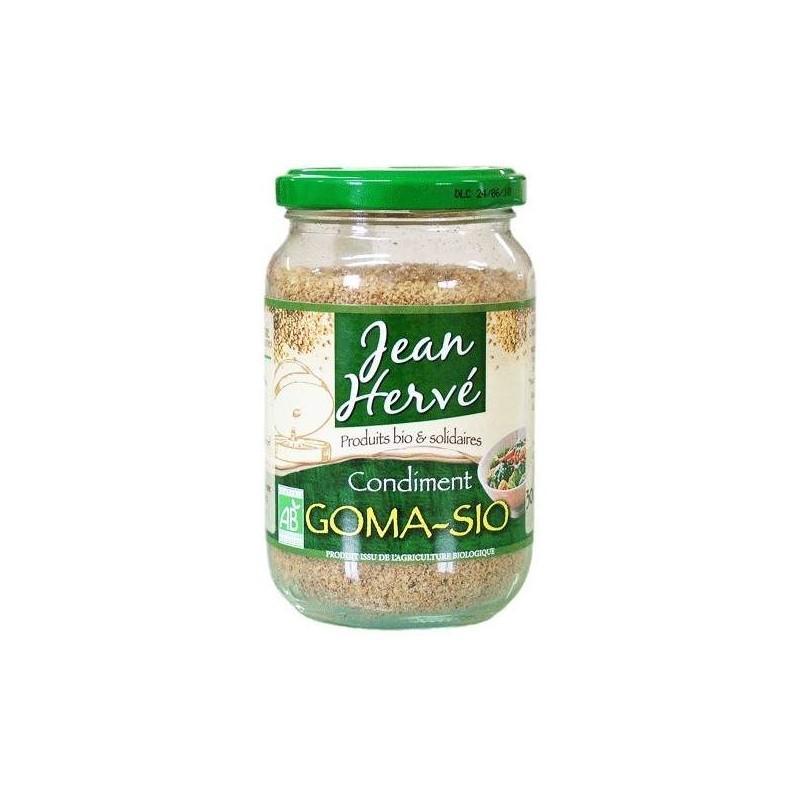 Goma-sio 150g (sésame et sel Nature et Progrès broyés à la meule de pierre)