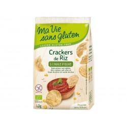 CRACKERS DE RIZ HUILE OLIVE 40G