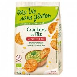 CRACKERS RIZ PIMENT DOUX 40G